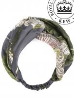 Passion Flower Grey Headband